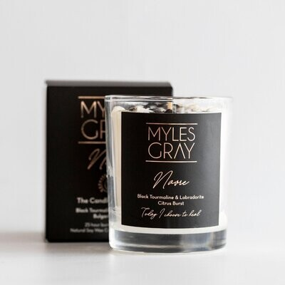 Mini Crystal Candle - Navre - Candle of Healing