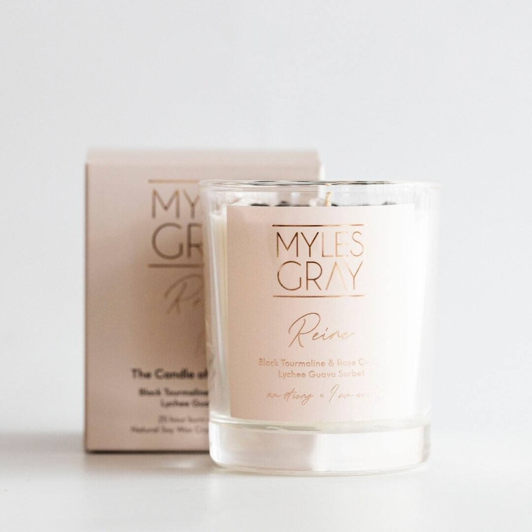 Mini Crystal Candle - Reine - The Candle of Compassion