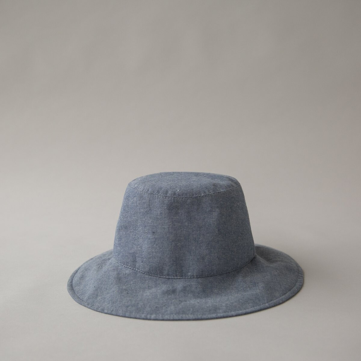 Cotton Bucket Cap - Denim