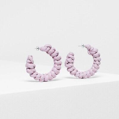 Knast Hoop Earring - Pink