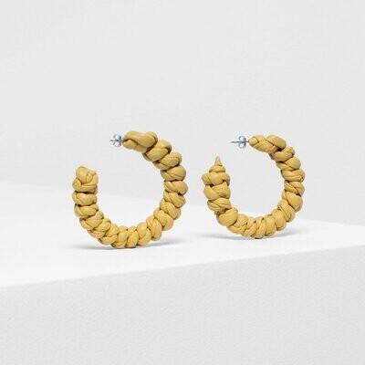Knast Hoop Earring - Yellow