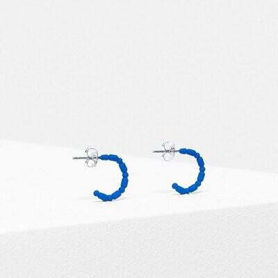 Sjo Hoop Earring - Cobalt