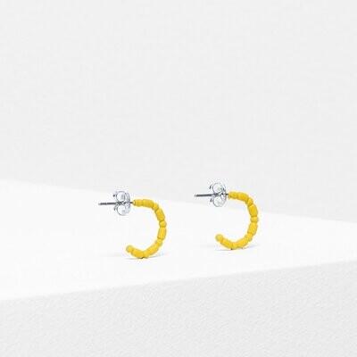 Sjo Hoop Earring - Yellow
