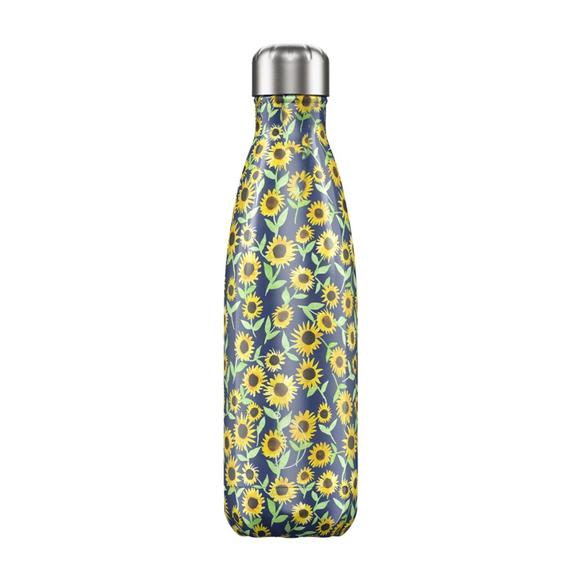 Chillys Ανοξείδωτο Θερμός Floral Sunflower 500ml