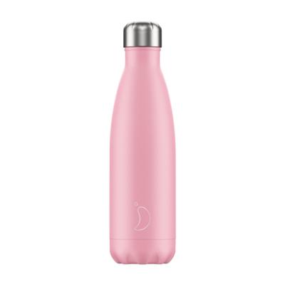 Chilly's Ανοξείδωτο Θερμός Pastel Pink 500ml
