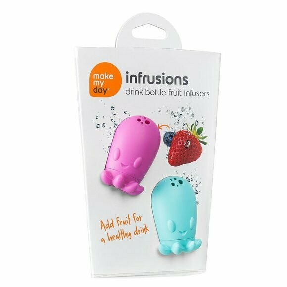 Make My Day Fruit Infuser Purple/Blue