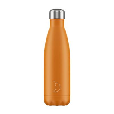 Chilly's Ανοξείδωτο Θερμός Neon Orange 500ml