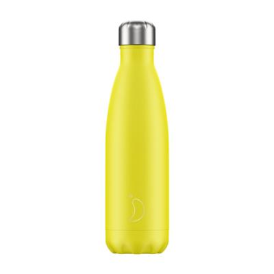 Chilly's Ανοξείδωτο Θερμός Neon Yellow 500ml