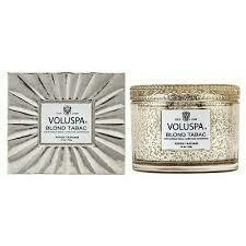 Voluspa Blond Tabac - 11oz Corta Maison Boxed Candle
