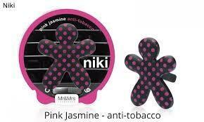 Mr and Mrs Fragrance Niki Pink Jasmine Anti-tobacco - Pois Matt Black & Pink Αρωμ. Αυ
