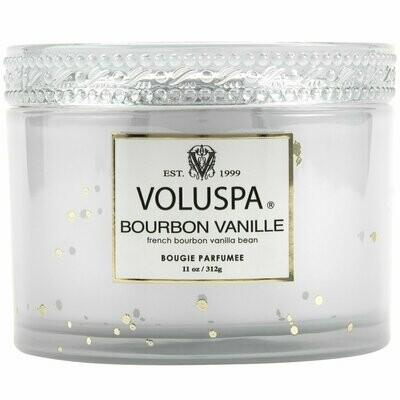 Voluspa Bourbon Vanille - 11oz Corta Maison Boxed Candle