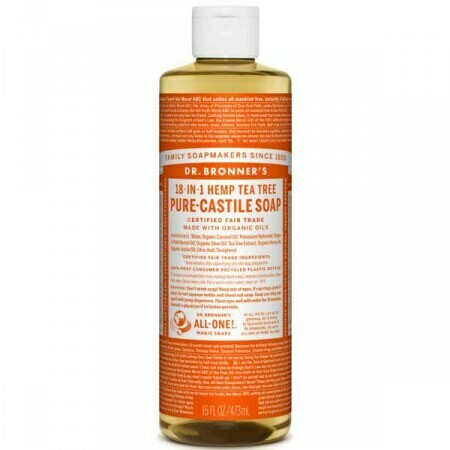 Dr Bronners υγρά Σαπούνια Pure Castile  240ml