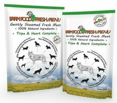 Bio-Bites Farmfood Fresh Menu Tripe & Heart300gr