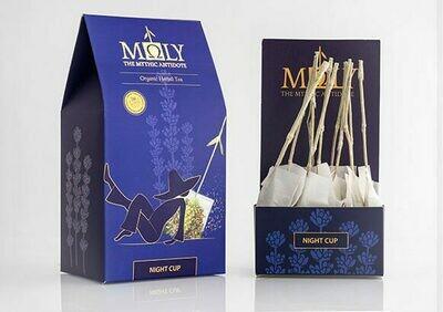 ΜΩLY Oraganic Herbal Tea Moly Night Cup