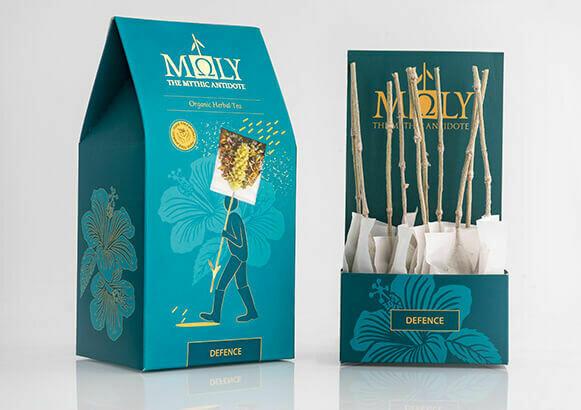 ΜΩLY Organic Herbal Tea Moly Defence