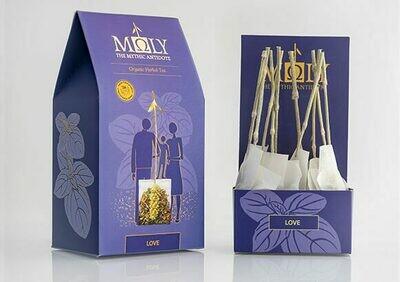 ΜΩLY Organic Herbal Tea Moly Love