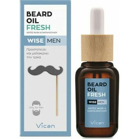Vican Wise Men - Beard Oil Fresh 30ml