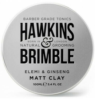 Hawkins & Brimble Matt Clay Pomade100ml (πομαδα πηλου για styling)