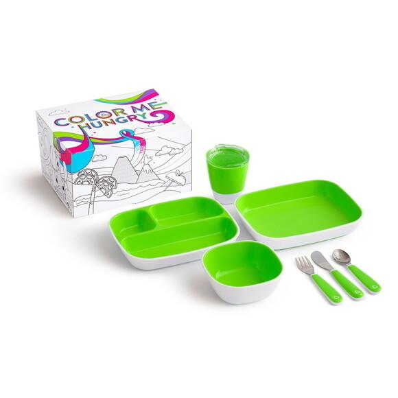 Munchkin Splash Dining Set - Green