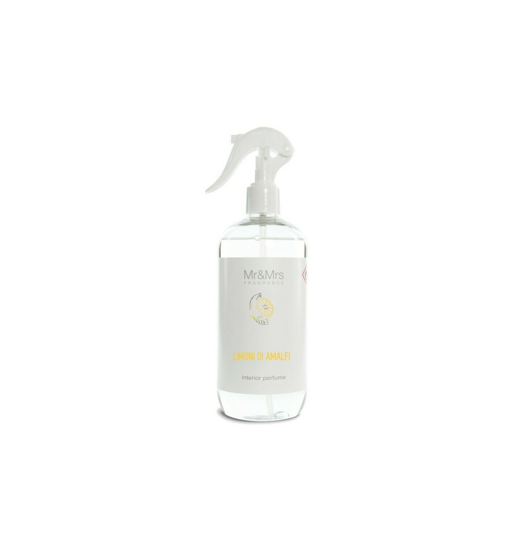 Mr And Mrs Fragrance Limoni Di Amafi  - 500ml Spray Ambiance & Textile