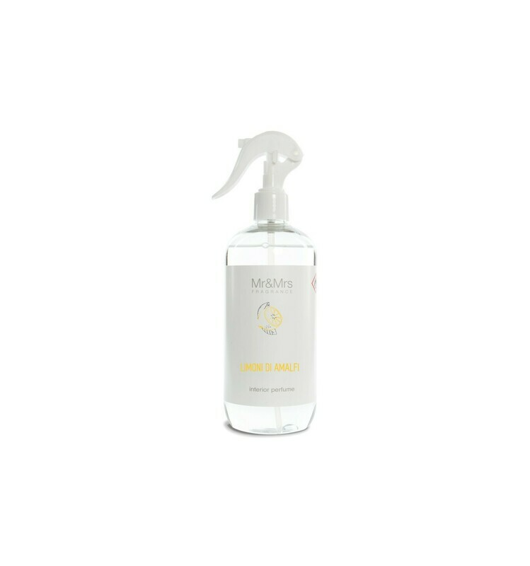 Mr And Mrs Fragrance Limoni Di Amafi  - 500ml Spray Ambiance & Textile