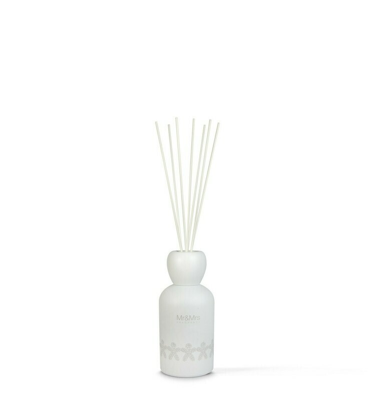 Mr And Mrs Fragrance Blanc Emty White Diffuser Bottle Icon 1l