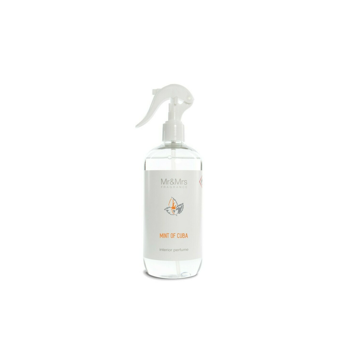 Mr And Mrs Fragrance Mint Of Cuba - 500ml Spray Ambiance & Textile