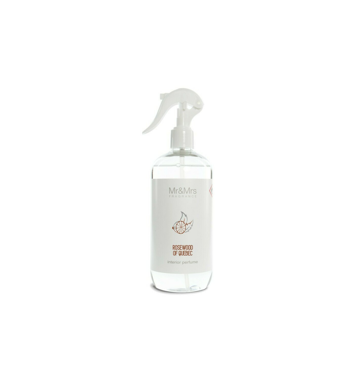 Mr And Mrs Fragrance Rosewood Of Quebec 500ml Spray Ambiance & Textile