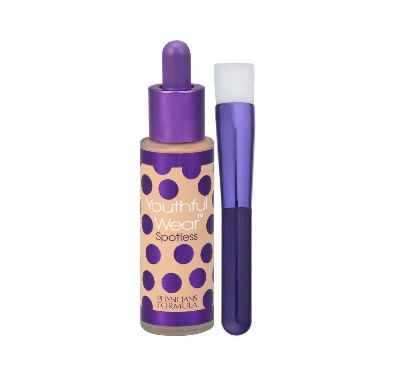 Physicians Formula 170112 Youthful Wear Cosmeceutical Youth-Boosting Spotless Foundation SPF 15