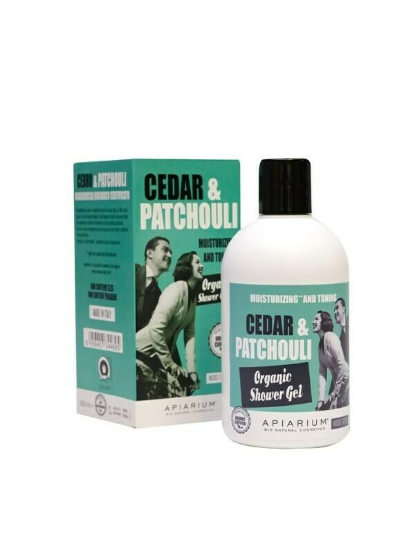 Apiarium Cedar & Patchouli Shower Gel 300ml