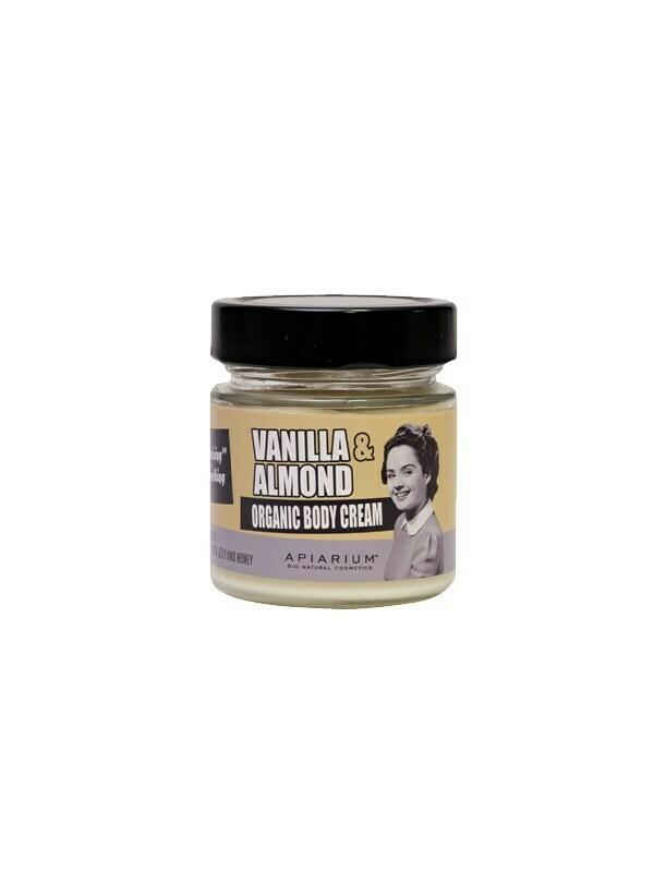 Apiarium Vanilla & Almond Body Cream 200ml
