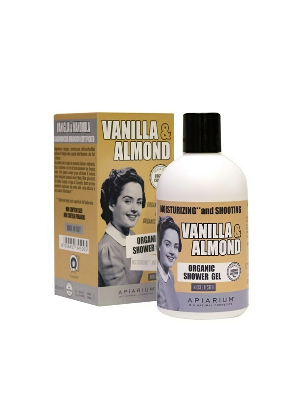 Apiarium Vanilla & Almond Shower Gel 300ml