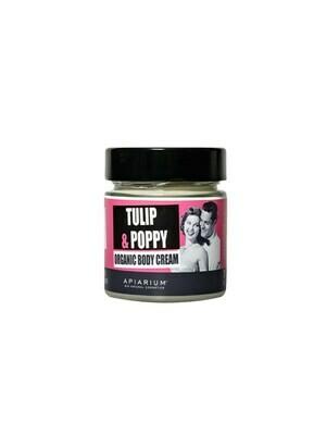 Apiarium Tulip & Poppy Body Cream 200ml