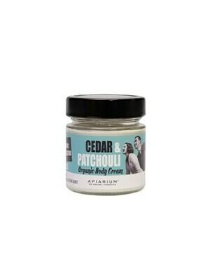Apiarium Cedar & Patchouli Body Cream 200ml