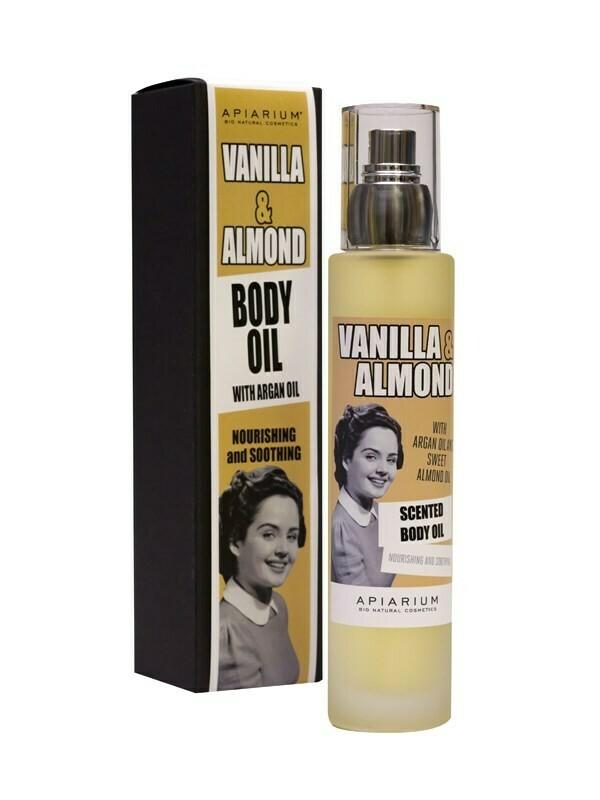 Apiarium Vanilla & Almond Body Oil100ml