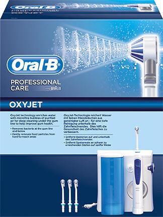 Oral-B IRRIGATOR OxyJet Ηλεκτρικός Εκτοξευτής Νερού MD20