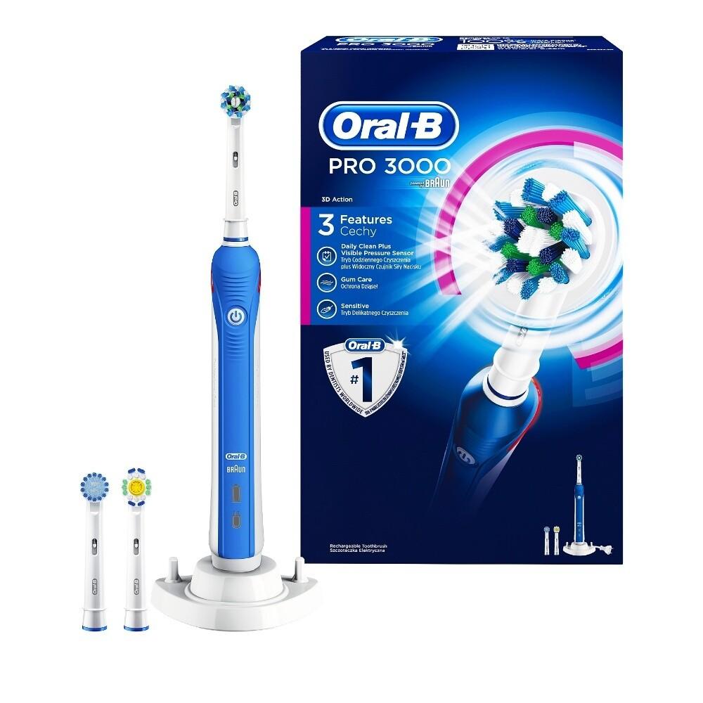 Oral-B Pro 3000, Ηλεκτρική Οδοντόβουρτσα