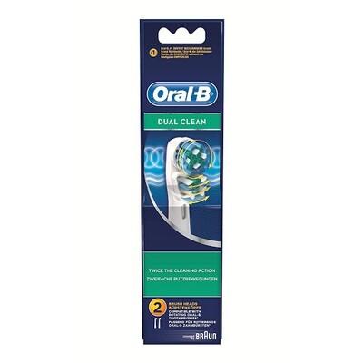 Oral-B Dual Clean Ανταλλακτικά Βουρτσάκια, 2 τμχ