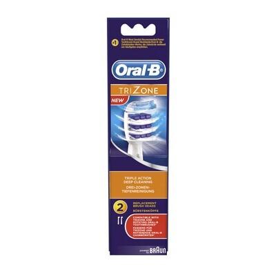 Oral-B Trizone Ανταλλακτικές Κεφαλές Οδοντόβουρτσας 2τμχ