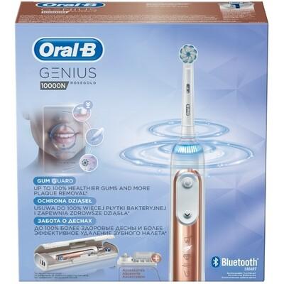 Oral-B Genius 10000N Rose Gold Ηλεκτρική Οδοντόβουρτσα