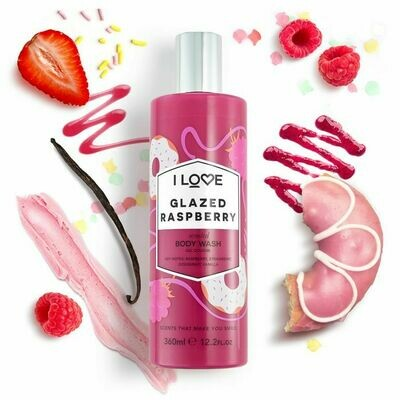 I Love Glazed Raspberry Bodywash 360ml