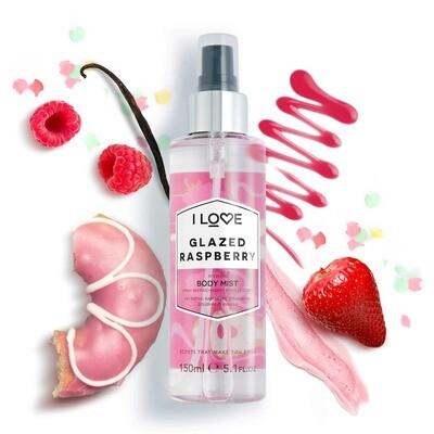 I Love Glazed Raspberry Body Mist 150ml
