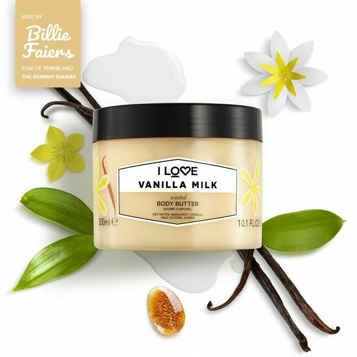 I Love Vanilla Milk Body Butter 300ml