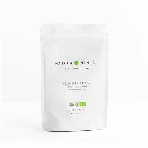Matcha Ninja Πράσινο Τσάι Αντιοξειδωτικό Matcha Bio 70gr