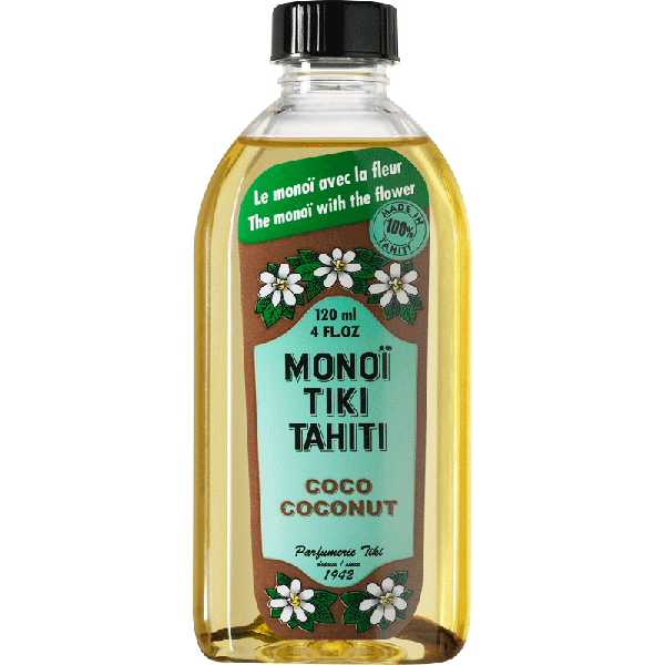 Tiki Tahiti Monoi Coco Blanc Πολυχρηστικό Λάδι SPF3 120ml