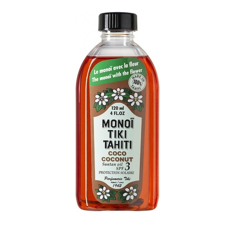 Tiki Tahiti Monoi Coco Solaire Πολυχρηστικό Λάδι SPF3 120ml