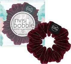 Invisibobble Sprunchie Red Wine is Fine με Βελούδινη Υφή 1pc