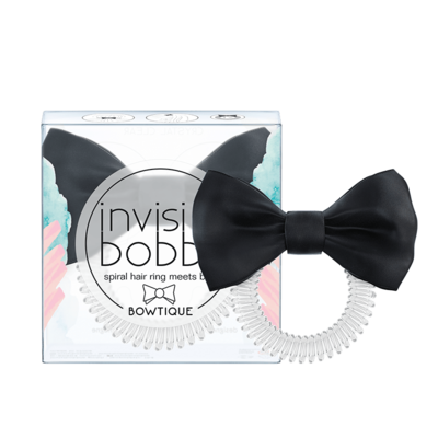 Invisibobble Slim Bowtique True Black 1pc