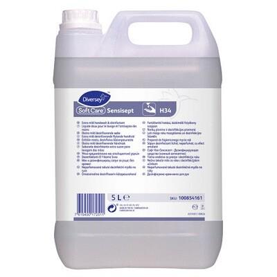 Diversey Απολυμαντικό Σαπούνι Soft Care Sensisept H34 5ltr