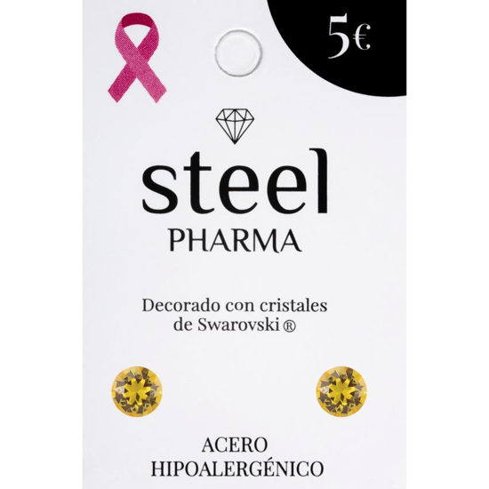 Steel Pharma με κρύσταλλα Swarovski